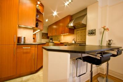 Image gallery la cuisine americaine for Cuisine americaine meuble